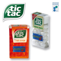 tic tac FRESH MINTS alterbativ FRESH ORANGE in der Box